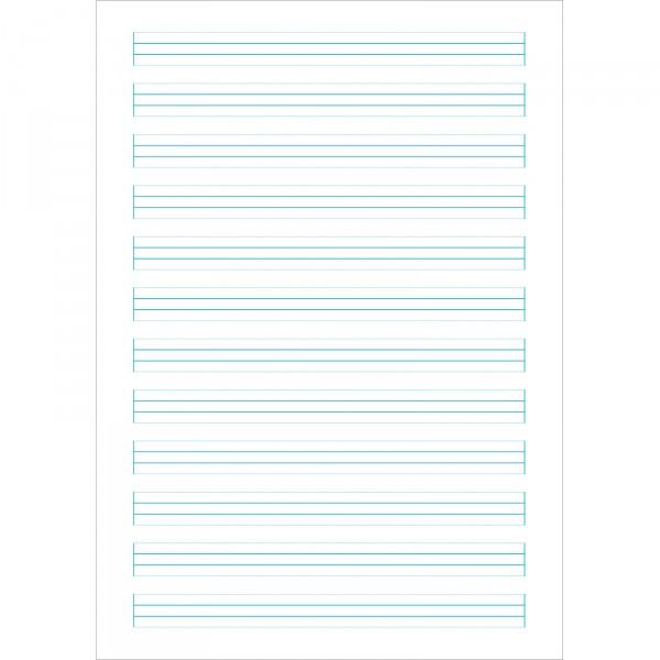 Schreibheft für vereinfachte Ausgangsschrift SHVA