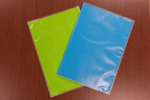 Transparente Hefthüllen DIN A4