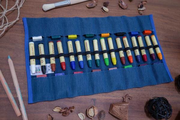 16er Stiftemäppchen gefüllt