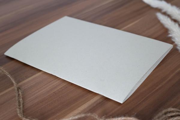 Blankoheft aus Graspapier