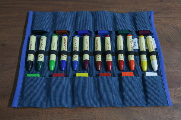 12er Stiftemäppchen gefüllt