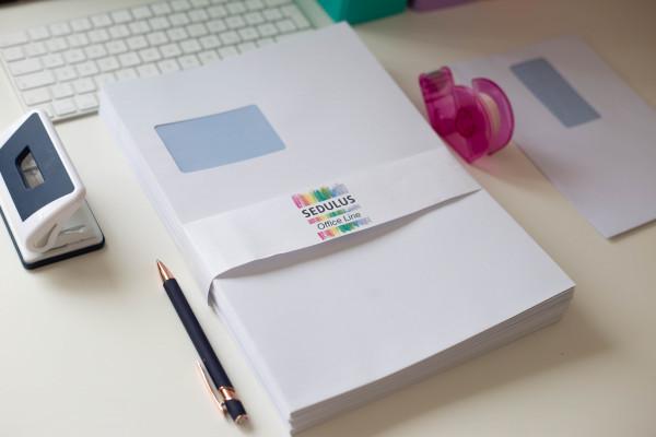 Briefumschlag A4 - Blauer Engel